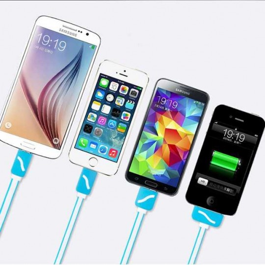 4in1 Ladekabel Lightning USB Micro USB 30 pin iPhone Anschluss