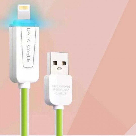 Micro USB Datenkabel Ladekabel Android LED 1m