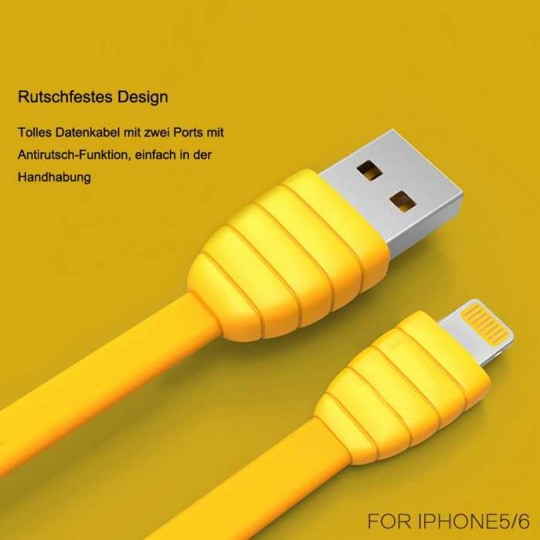 Lightning Flip USB Kabel Ladekabel Datenkabel reversible für iPhone