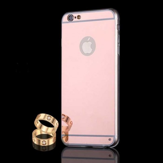 Apple iPhone 6 /6s SCHUTZHÜLLE SPIEGEL Case Handy Silikon TPU Cover