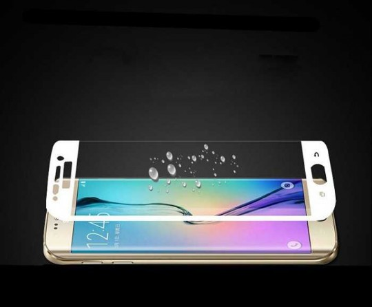 Samsung Galaxy S6 edge plus Panzerfolie Schutz Folie gold Displayschutz 2,5D