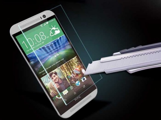 HTC one M8 Panzerfolie klar Display Schutz Folie Extrem Antischock