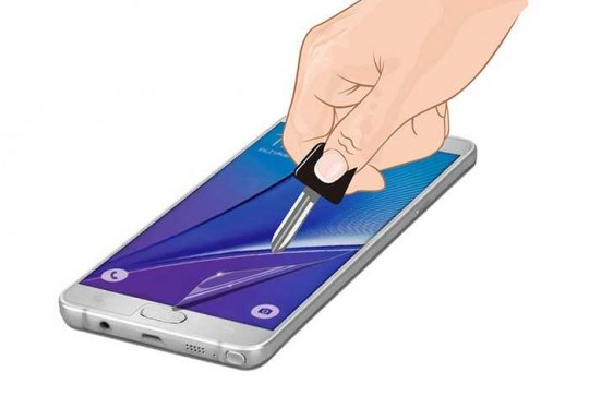 Samsung Galaxy Note 3 Matt Panzerfolie Display Schutz Folie Extrem Antischock