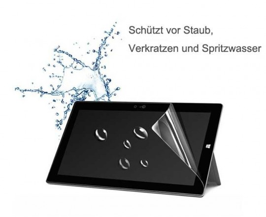Microsoft Surface pro4 Panzerfolie Klar Display Schutz Folie Extrem Antischock  test
