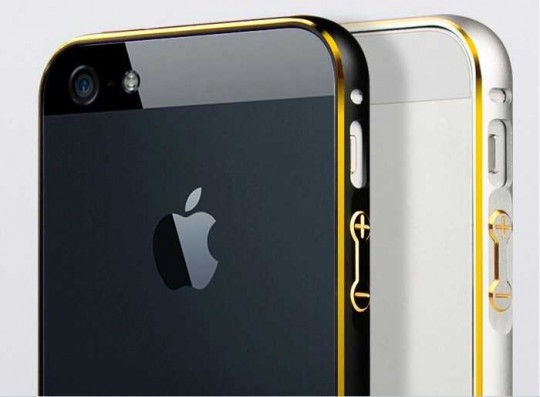 Apple iPhone 5 6 Aluminum Metall Bumper Frame Case Cover
