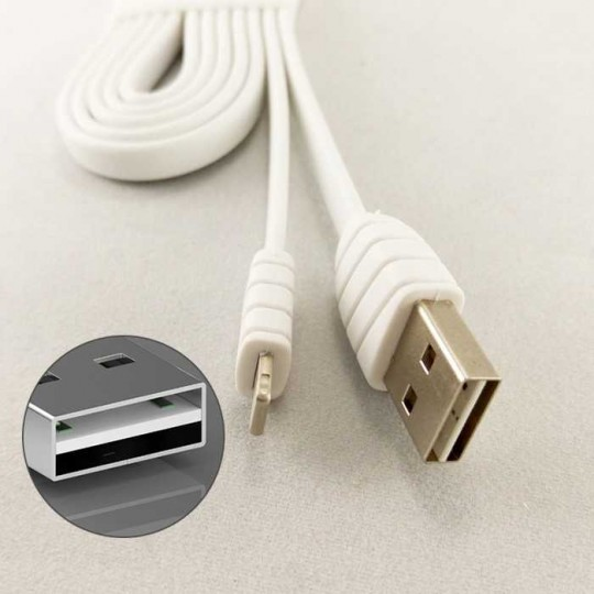 Mirco Flip USB Kabel Ladekabel Datenkabel reversible Android für Handy