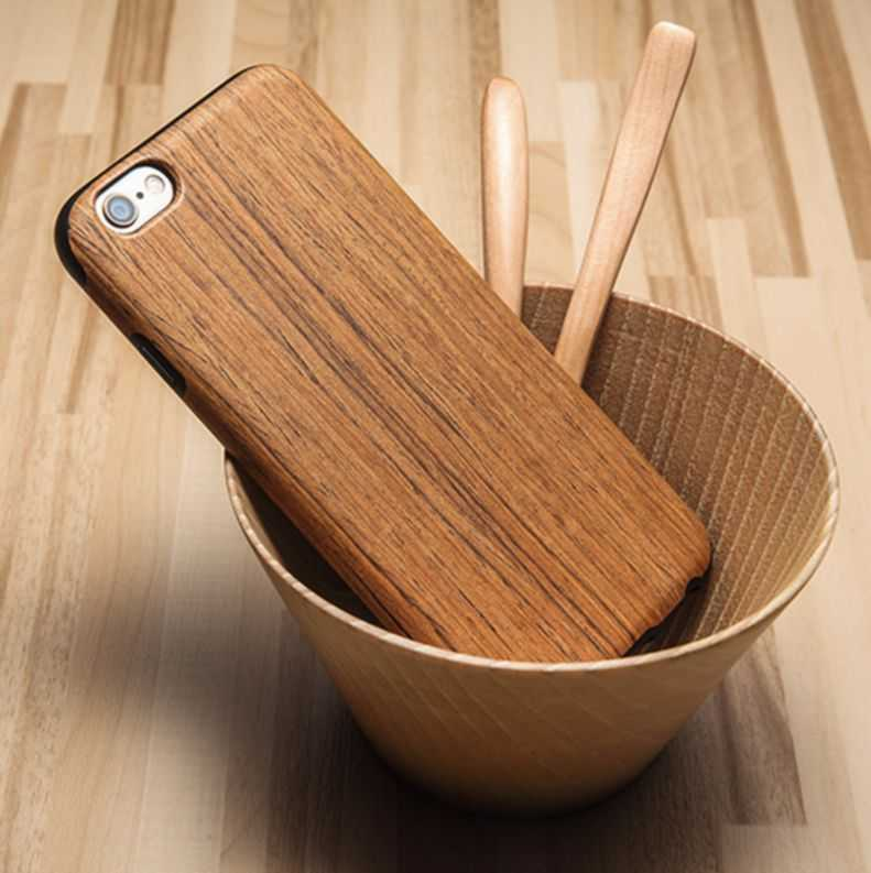 wood Smart phone case
